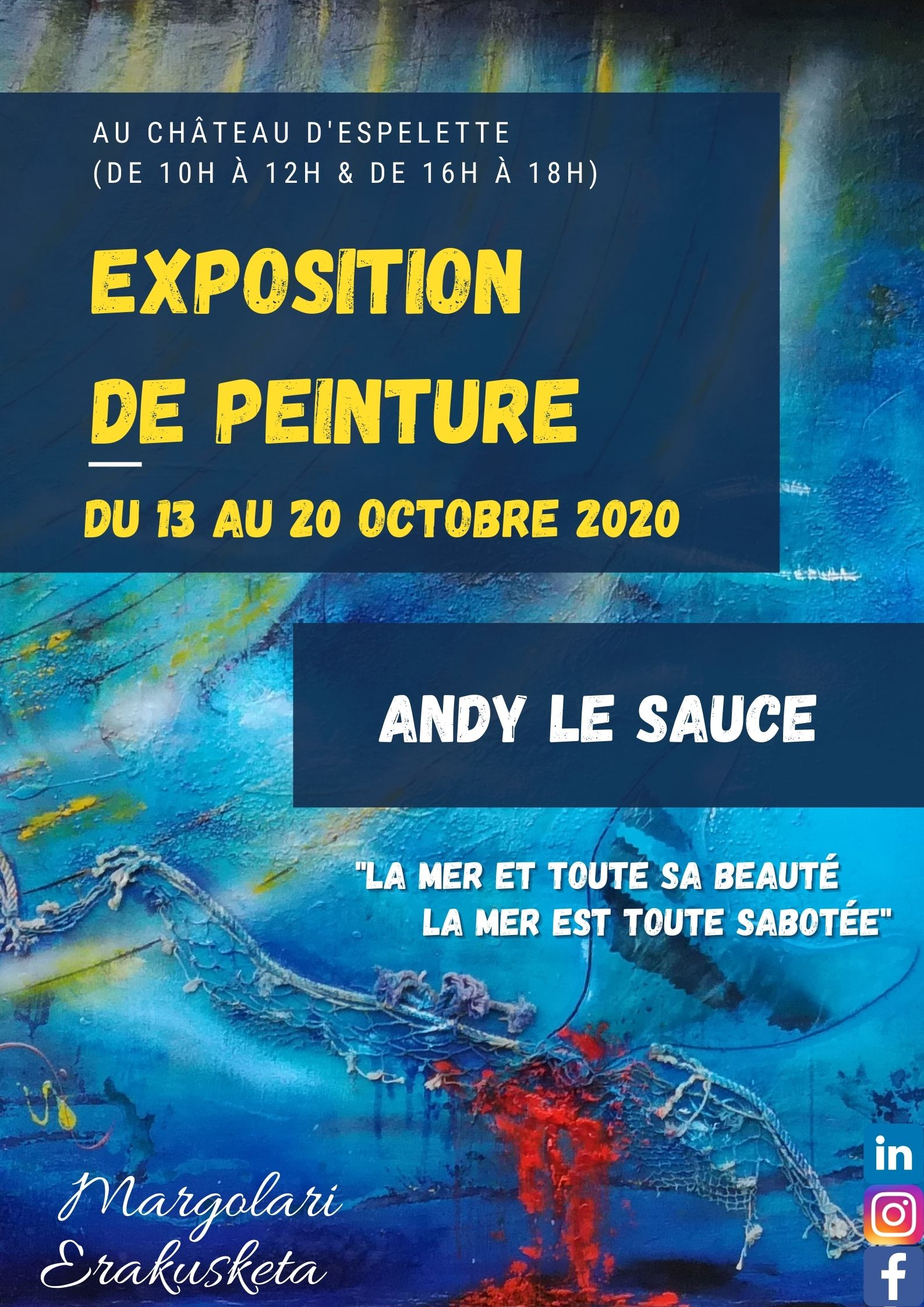Expo Andy Le Sauce