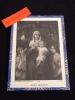 """ au1001choses ""  Gravure religieuse  Vierge Marie"