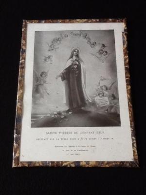 """"""" au1001choses """" Gravure Sainte-Thérèse de l' Enfant-Jésus"""