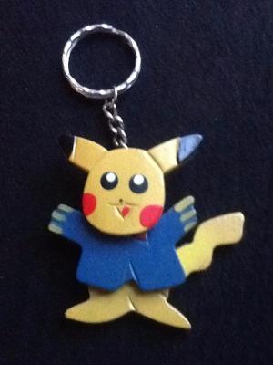 """"""" au1001choses """"  Porte-clés Pikachu Pokémon"""