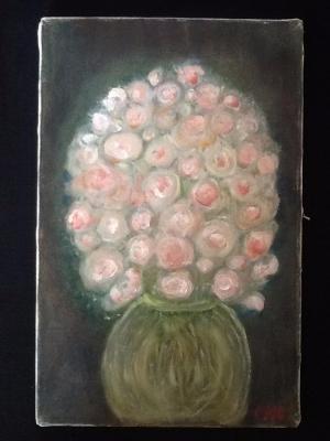 """"""" au1001choses """"    Tableau bouquet de fleur"""