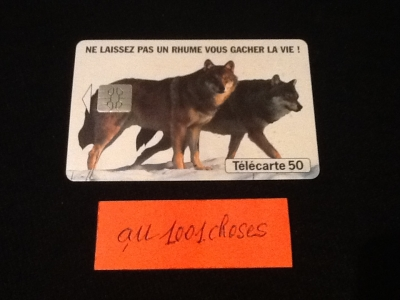 """ au1001choses ""  Télécarte France Télécom 1993"