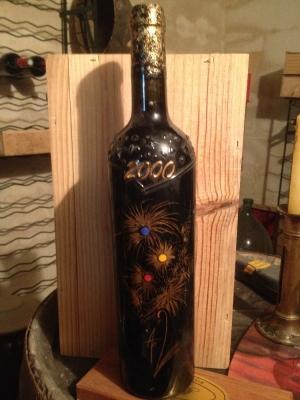Bouteille vin rouge Château Labastii 1998 Gaillac  an 2000
