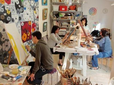 Cours de Peinture - Aurelie Pfaadt