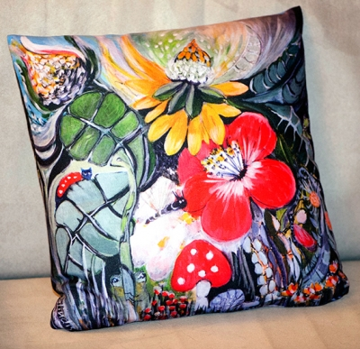 Coussin Jardin - Relindis