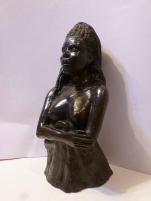 La Femme Noire - Fabienne Thibault Boorsch