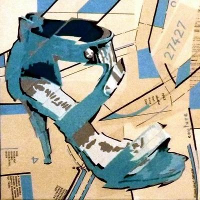 Les escarpins bleus - Richard Saint-Germain