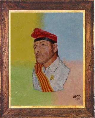 Peinture Autoportrait 3