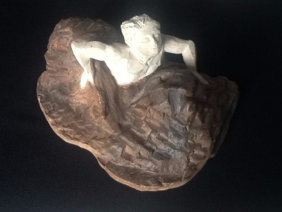 Ancienne sculpture Terre cuite