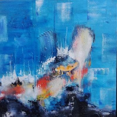 Blue oils - Andy Le Sauce