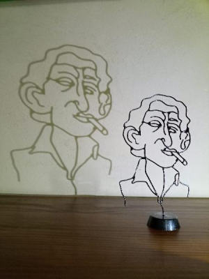 Caricature Gainsbourg  - Eric David