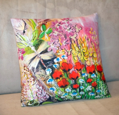 Coussin Coquelicots - Relindis