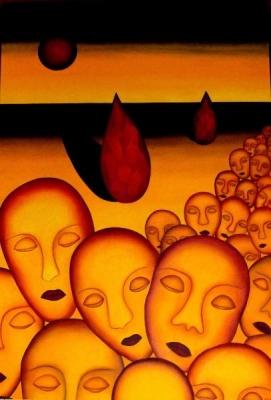 La marche du troisiéme éveil  - Bernard Goutiers