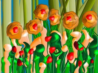 Le jardin imaginaire - Relindis