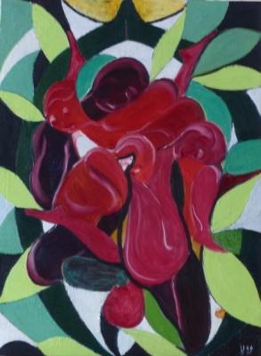Méli mélo de roses - Esdez