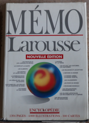 Memo Larousse 1304 pages