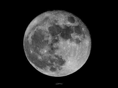 Merveilleuse pleine lune - Magie de Forme