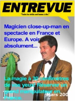 Spectacle de magie close-up à réserver en France et cours à domicile.