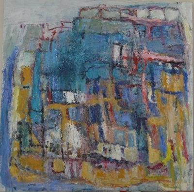 Terre et eau-  Christine Ange Lefevre