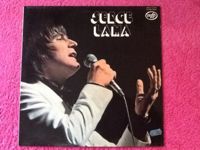 """ au1001choses ""  Vinyle 33 tours Serge Lama Les ballons rouges"