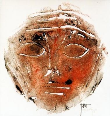 Visage rouge - Jomaray