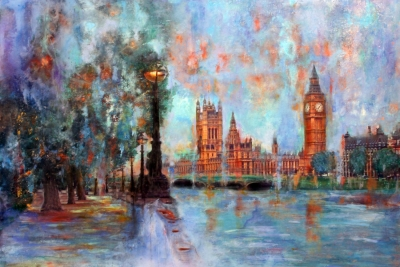 Westminster by the river
